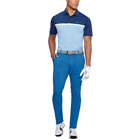Under Armour UA Showdown Taper Pantalón Golf, Hombre: Amazon.es ...
