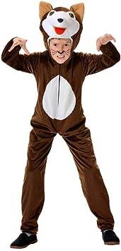 Disfraz lobo niño. Talla 5/6 años.: Amazon.es: Juguetes y juegos