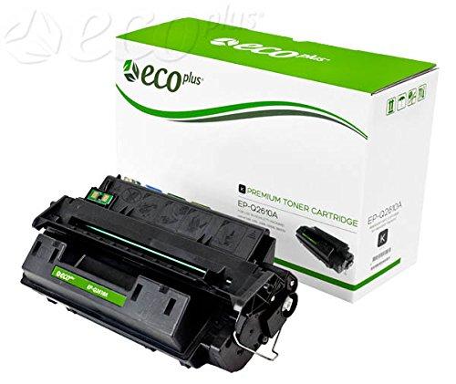 ECOPLUS Compatible 10A (Q2610A) Toner CTG, Black, 6K Yield. Part no. - Toner 6k Black