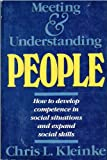 Meeting and Understanding People, Kleinke, Chris L., 0716717646