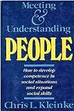 Meeting and Understanding People 9780716717645