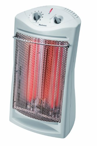 Holmes Quartz Tower Heater, White