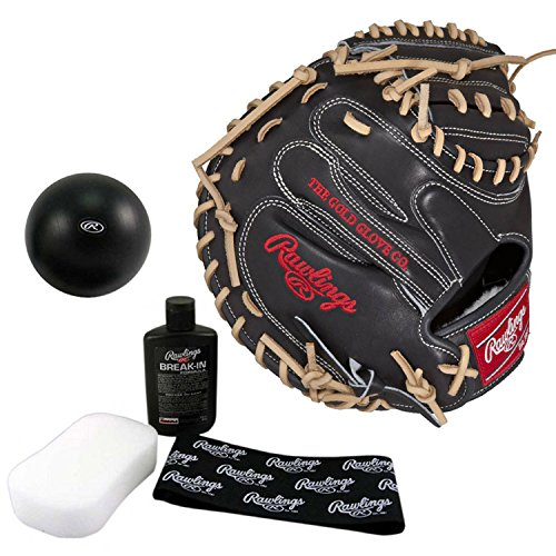 Rawlings Pro Preferred 33 Inch Baseball Catchers Mitt with Break in Kit by Rawlings