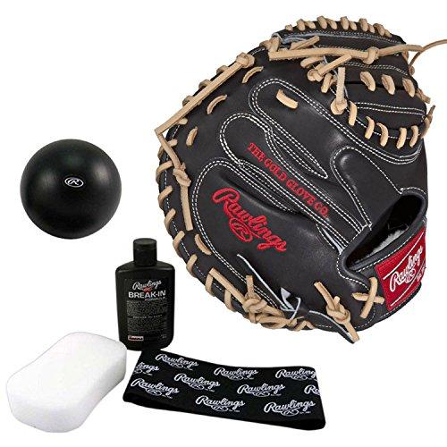 Rawlings Pro Preferred 33 Inch Baseball Catchers Mitt with Break in Kit by Rawlings