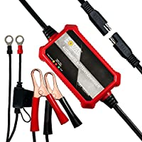 Foval Automatic Trickle Battery Charger 12V 1000mA Smart Motorcycle Battery Charger Maintainer