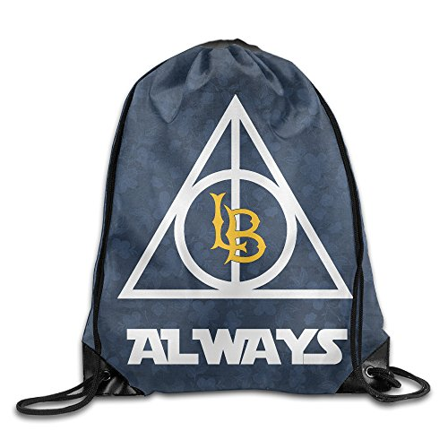 Price comparison product image PKTWO Cinch Backpack Always California Long Beach State Outdoor Drawstring Bag