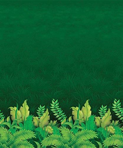 Jungle Foliage Backdrop Party Accessory
