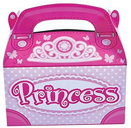 AimTrend Favor Party Treat Boxes-Pack of 12-Princess