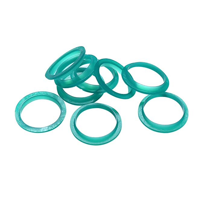 FineInno 30 Piezas Repuesto Anillo De Sello De Caucho Silicone Seal Filter Replacement Ring Compatible con