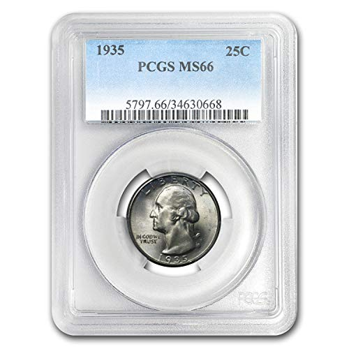 1935 Washington Quarter MS-66 PCGS Quarter MS-66 PCGS