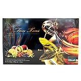 Dilmah Fun Teas Collection - Flavored Ceylon Black Tea - 80 Tea Bags - 160g net (5.64 oz) - Mint, Lemon, Peach, Mango & Strawberry, Caramel, Pear & Orange, Blueberry & Vanila and Blackcurrant