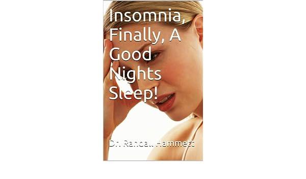 Insomnia and Sleep