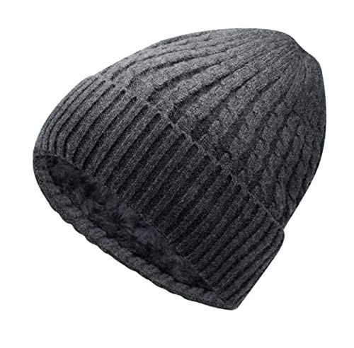 Taille Acvip Unique A Femme Bonnet Stil dunkelgrau Eqqwp6A8W
