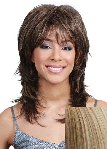 Luella Synthetic Wig By Escara (Malibu - Blonde Malibu Wig