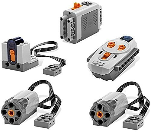 lego-5pc-power-functions-motor-battery-ir-remote-receiver-set