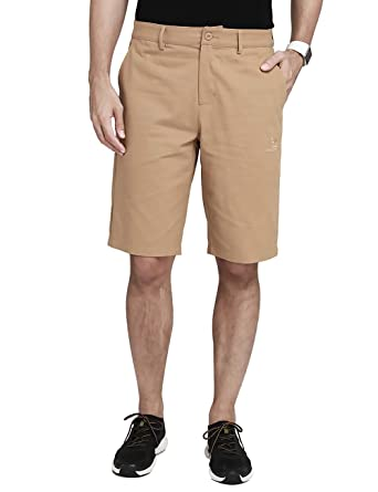 "fdcf4373a4 Camel Mens Cargo Shorts Casual Classic Fit Hybrid Chino Shorts with 4  Pockets 12"" Inseam"