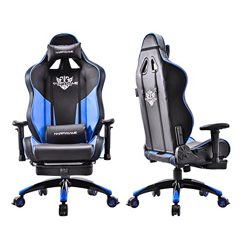 Happygame Oversized Racing Gaming Chair High Back