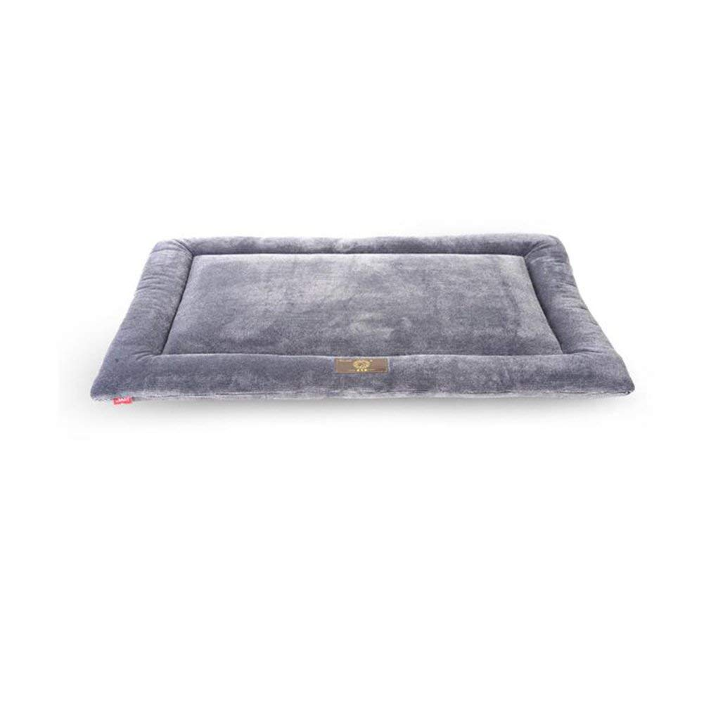 Large HeiPlaine Pet Sofa Beds FS-467 New Fabric Kennel Pet Bed Pet Mat Four Seasons Universal Comfortable And Soft Easy To Fold (Size   Large)