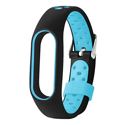 Btruely Herren-- Correas Relojes de Ligero Ventilar Pulsera de Reemplazo para Xiaomi Mi Banda