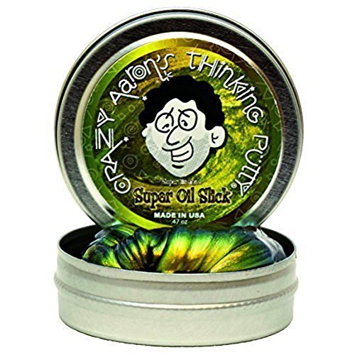 Crazy Aarons So003 Super Illusions  Oil Slick  Thinking Putty Tin  2 Inch