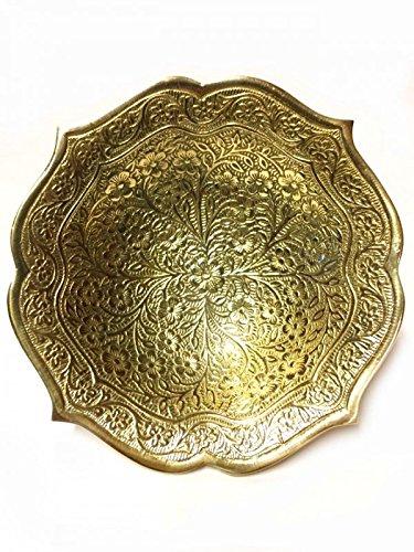 Marrakesch Orient /& Mediterran Interior /® Orientalische Indische Messingschale Sinan