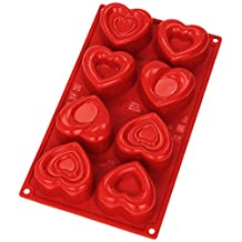 Silicone Mold: Love, 8 Cavities
