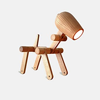 Simple Mode Solide De Creative Personnalité Bois Bureau Led Lampe QhBtsxdCr