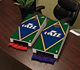 Victory Tailgate Utah Jazz NBA Basketball Desktop Cornhole Game Set Diamond Version