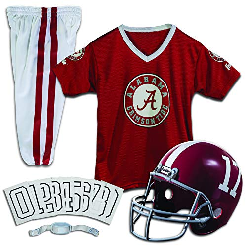 Franklin Sports Alabama Crimson Tide Kids College Football Uniform Set