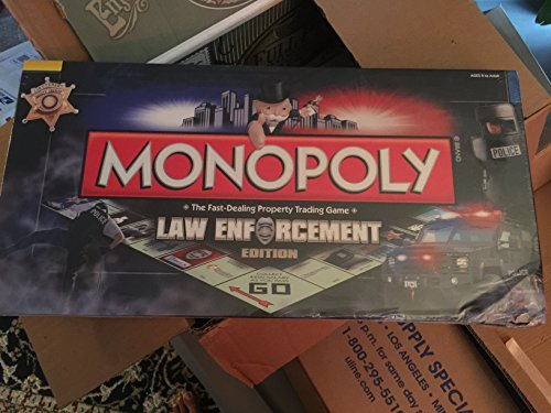 MONOPOLY: Law Enforcement Edition