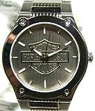 Harley-Davidson Men's 76A134 Analog Quartz Silver Stainless Steel Watch