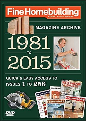 fine homebuilding 2015 magazine archive editors of fine