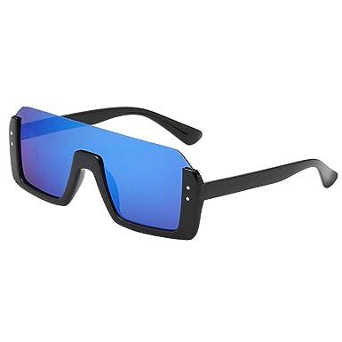 B Baosity Gafas de Sol Lentes Cuadradas Degradadas UV 400 ...