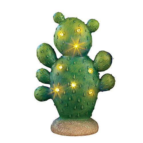 Lighted Cactus Garden Light