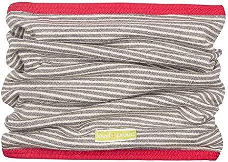 GOTS Zertifiziert Sciarpa Unisex-Bimbi proud Wende-schlauchschal aus Bio Baumwolle loud