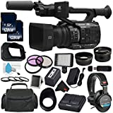 Panasonic AG-UX90 4K/HD Professional Camcorder All You Need Bundle (International Model)