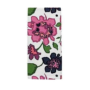 Kate Spade Festive Floral Kitchen Towel, 17 x 28