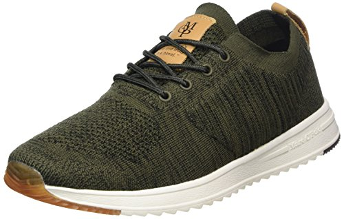 Vert Baskets 80223713503601 O'Polo Olive Homme Sneaker Marc fwpqF0xga