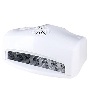54W LED UV Lámpara de uñas Secador de uñas Luce Máquina Dos manos Alto Voltaje Gel