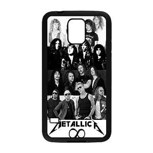Diy Metallica Cover Case, DIY Hard Back Phone Case for SamSung Galaxy S5 I9600 Metallica