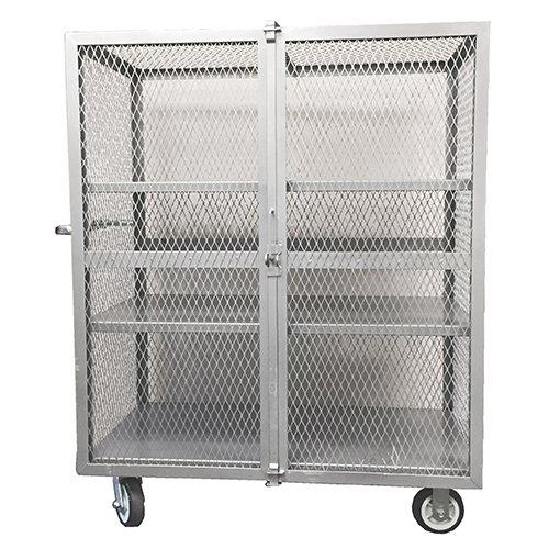 Winholt EC-3-2448/2ADJ Security Cage, Steel, 24