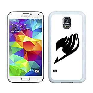 Fairy Tail 5 White For Samsung Galaxy S5 Case Genuine and Cool Design