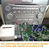 Yomikoo Aux Adapter, Car Stereo AUX Cord CD Changer