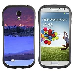 "Hypernova Slim Fit Dual Barniz Protector Caso Case Funda Para SAMSUNG Galaxy S4 IV / i9500 / i9515 / i9505G / SGH-i337 [Naturaleza de Moutnain Consejos""]"