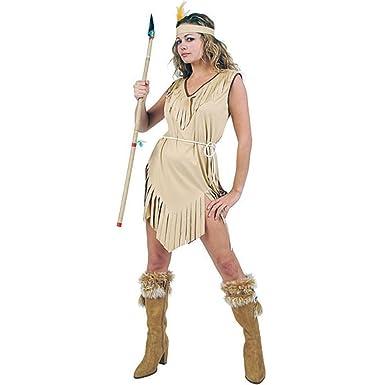 Womenu0027s Indian Maiden Halloween Costume (Size Standard ...  sc 1 st  Amazon.com & Amazon.com: Womenu0027s Indian Maiden Halloween Costume (Size: Standard ...