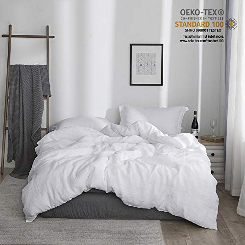 Simple&Opulence 100% Stone Washed Linen Basic Style for sale  Delivered anywhere in Canada