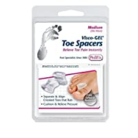Pedifix Gel Smart Visco-gel Toe Spreaders - 1126 - Medium (4 Pack)