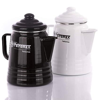 Petromax esmalte cafetera Blanco blanco Talla:1,5 L