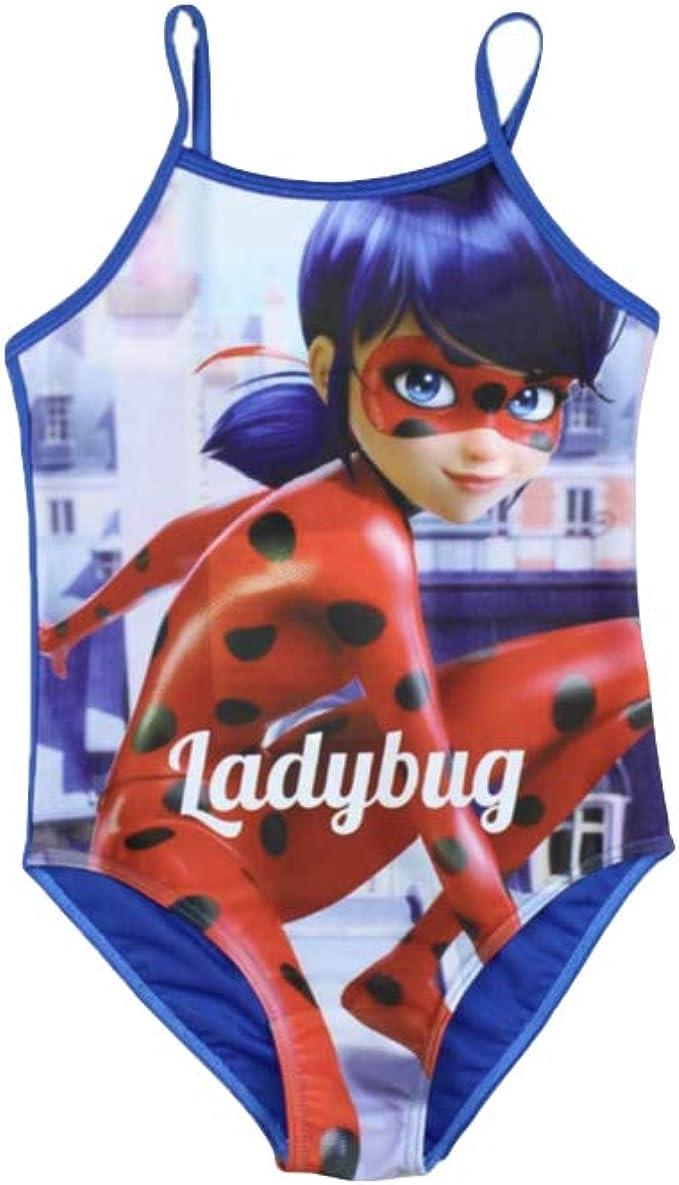 Miraculous Ladybug - Traje de una Pieza - para niña: Amazon.es ...