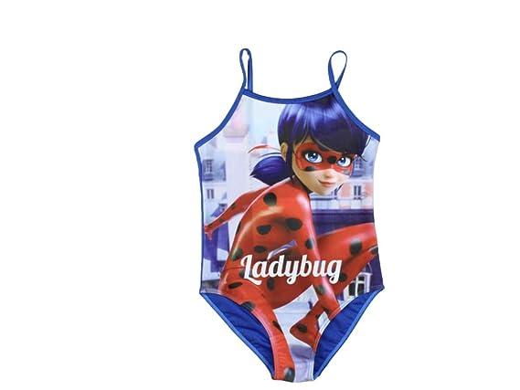 Miraculous Ladybug - Traje de una Pieza - para niña: Amazon ...